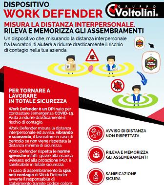 Dispositivo Work Defender