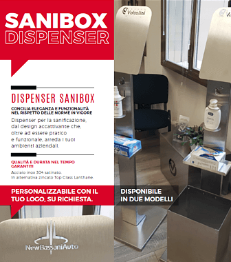 Dispenser SANIBOX