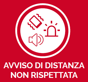 DPI Work Defender - Avviso di distanza